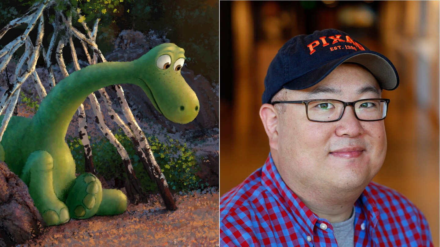 "Pixar's 2015 film ""The Good Dinosaur"" switched directors from Bob Peterson to Peter Sohn (pictured)."