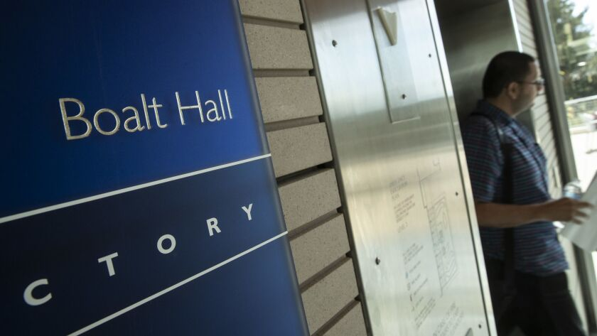 Berkeley Law?s main classroom building is named Boalt Hall after John Henry Boalt who helped get the Chinese Exlcusion Act pass. Dean is expected to remove the name from the building. Boalt Hall has