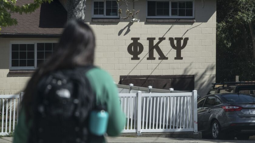 Cal Poly San Luis Obispo recently suspended all fraternities and sororities after several racist incidents.