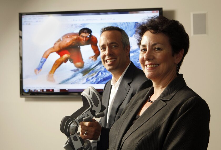 DJO Global Chief Executive Michael P. Mogul and Chief Financial Officer Vickie Capps. John Gastaldo • U-T