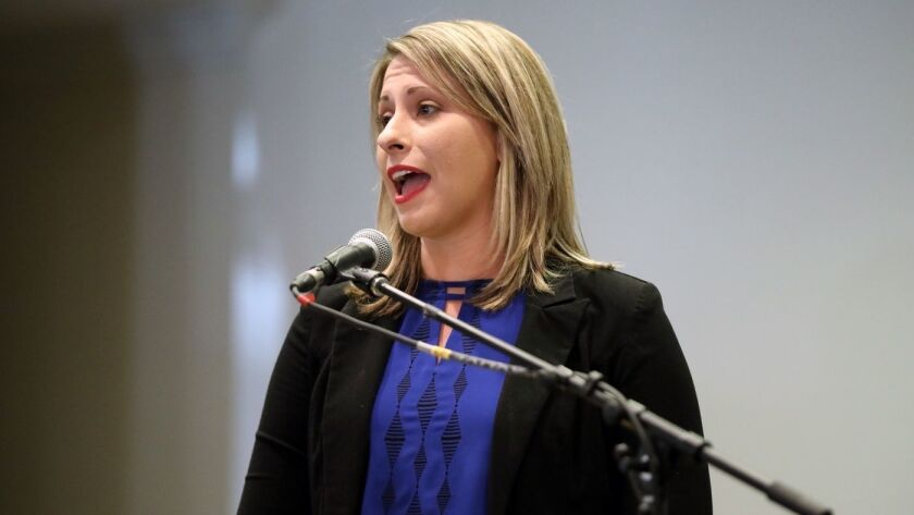 House Ethics Committee investigating allegations against California Rep. Katie Hill