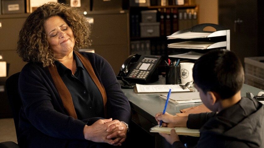 """Tina (Anna Deavere Smith) takes on an immigration case in a new episode of the legal drama """"For the People"""" on ABC."""