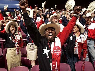Texas delegates