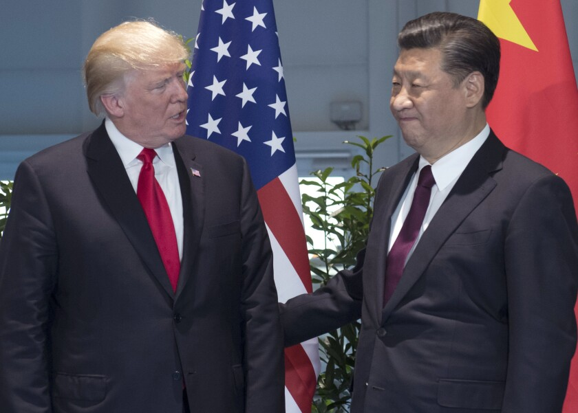 President Trump and Chinese President Xi Jinping