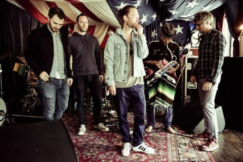 Radiohead frontman Thom Yorke's band Atoms for Peace plans to broadcast live sets over Soundhalo.