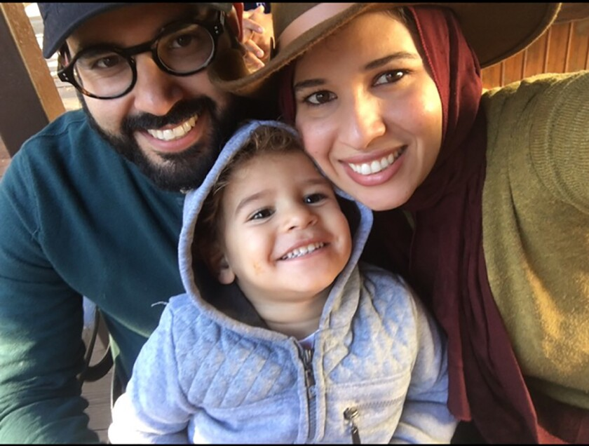 Family stuck by car on Halloween night in Long Beach