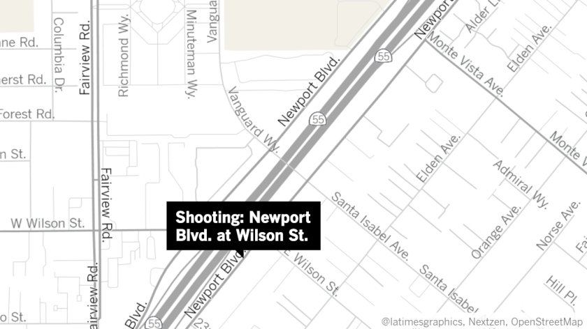 There were no apparent victims in a shooting that took place Tuesday night