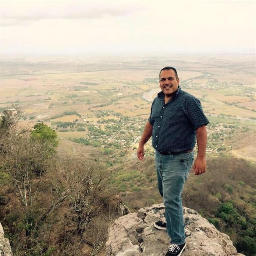 Fotografía cedida hoy por colegas del periodista Jesús Alejandro Márquez Jiménez, asesinado en el estado de Nayarit (México). EFE/SOLO USO EDITORIAL