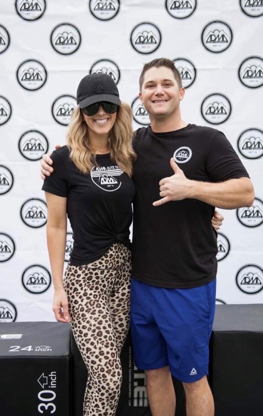 ADMA Elite Training Co-Owners Anthony and Lindsay Abbott.