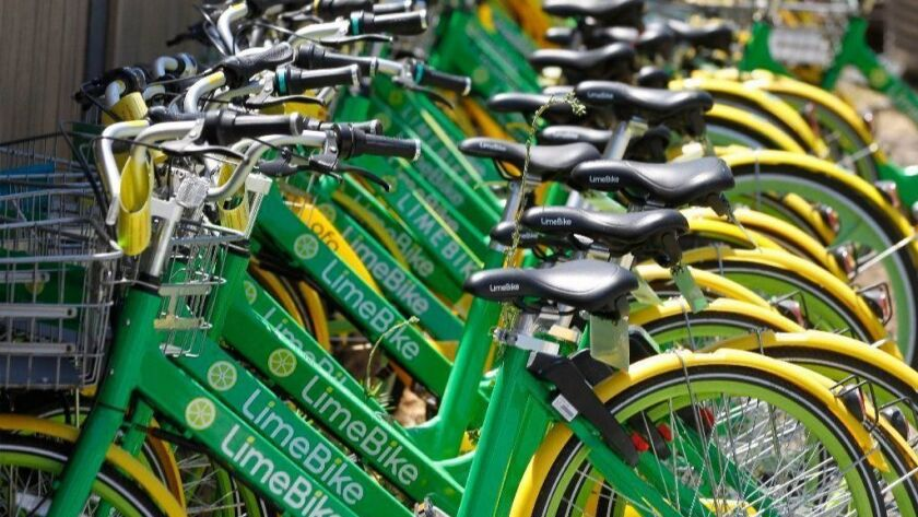 Over a hundred dockless bikes have been impounded by the city of Coronado.