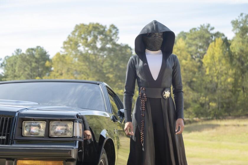 """Regina King in """"Watchmen"""" on HBO."""