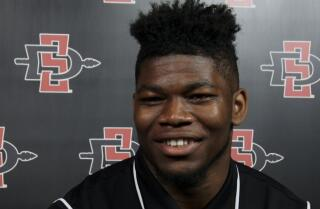"Aztecs RB Rashaad Penny: ""We're ready to let loose and play some football"""