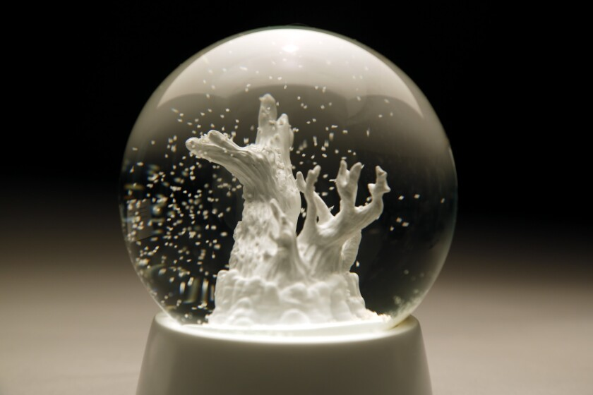 Prometheus snow globe