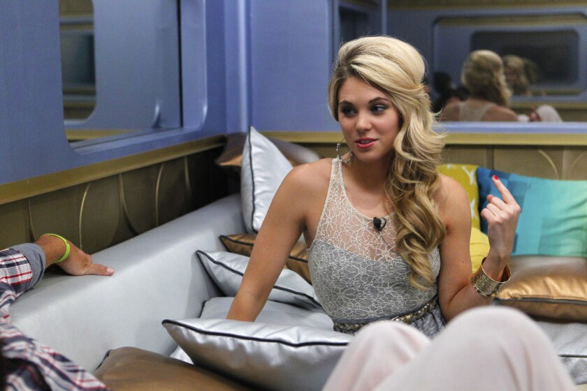 """Aaryn Gries from """"Big Brother."""""""