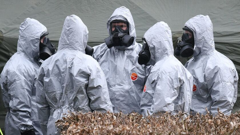 British police identify Russian citizens suspected of being behind the Novichok nerve agent attack, Salisbury, United Kingdom - 11 Mar 2018