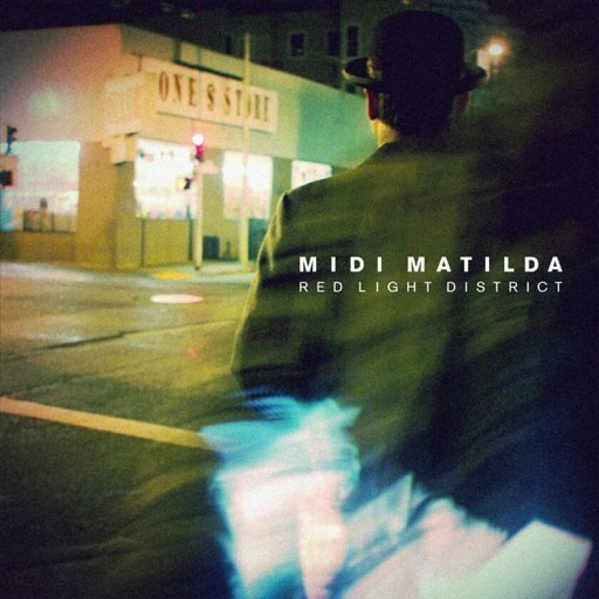 """This cover image released by Five Seven Music shows """"Red Light District EP"""" by Midi Matilda. (AP Photo/Five Seven Music)"""
