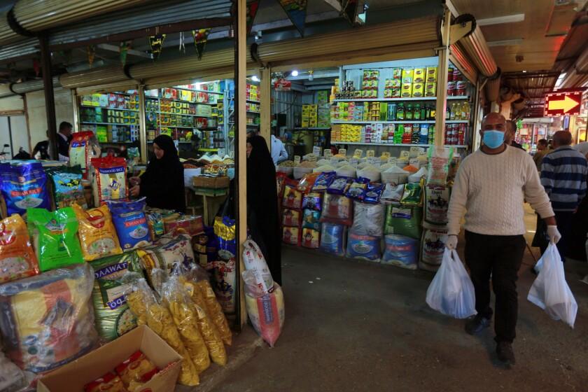 Virus Outbreak Iraq Economic Impact
