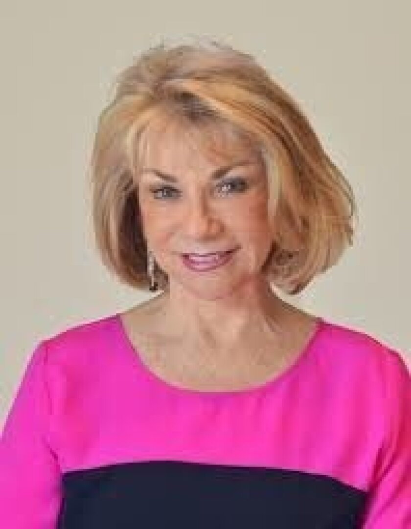 """Rancho Santa Fe philanthropist Ruth Westreich is one of 40 women featured in """"Notes to Our Sons and Daughters: My Sister's Voice."""" Courtesy photo"""