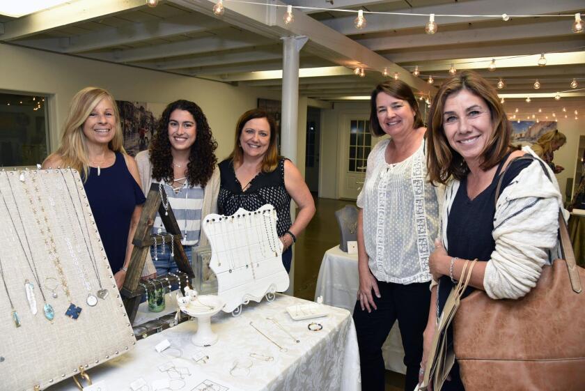 Tina Egge, Joey Monaco and Nancy Monaco of www.Jeweledfate.com, Karen Robinson, Jeannine Dill