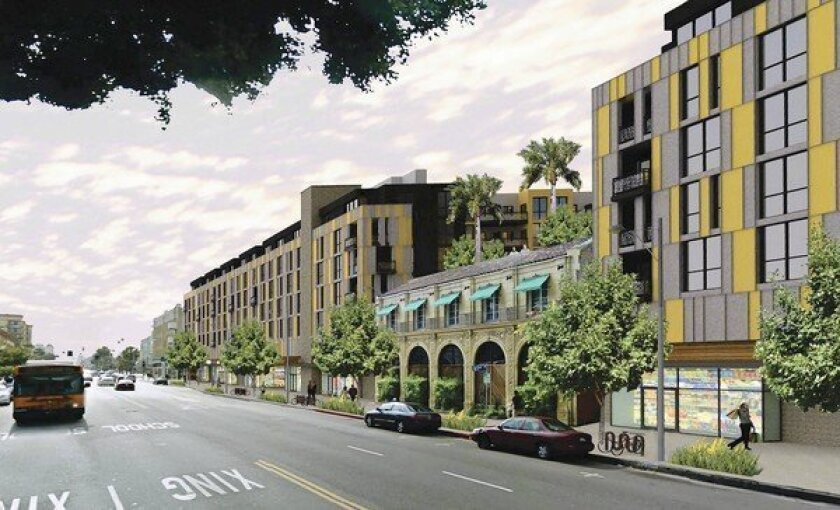 Apartment and shopping complex is slated for Hollywood Boulevard