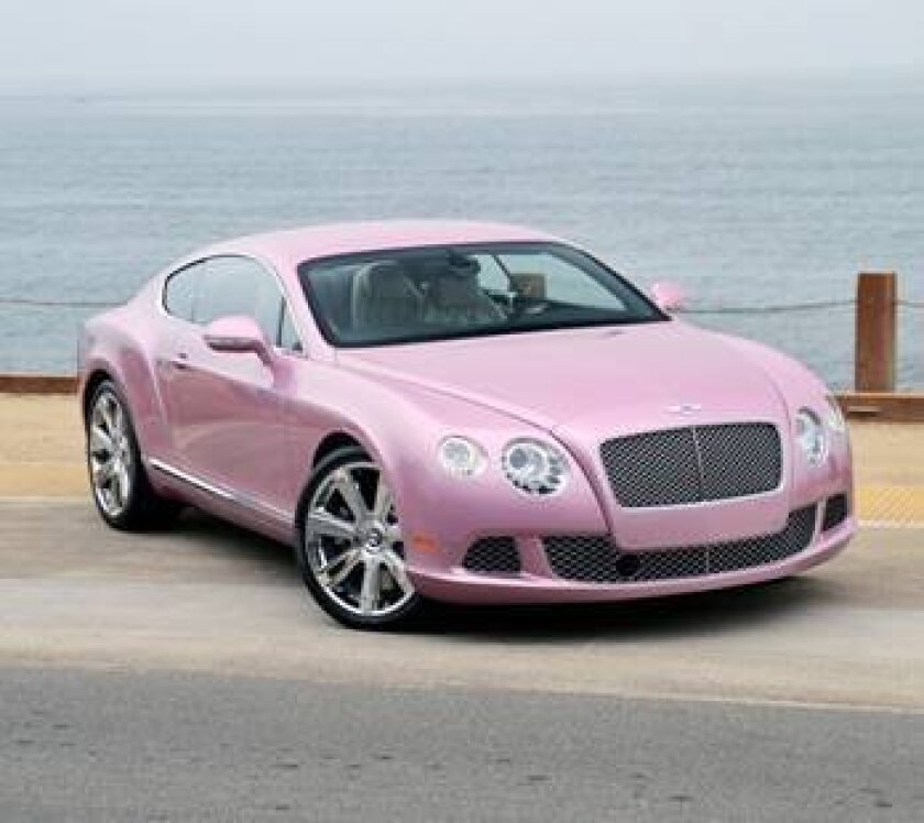 Bentley Continental GT Coupe