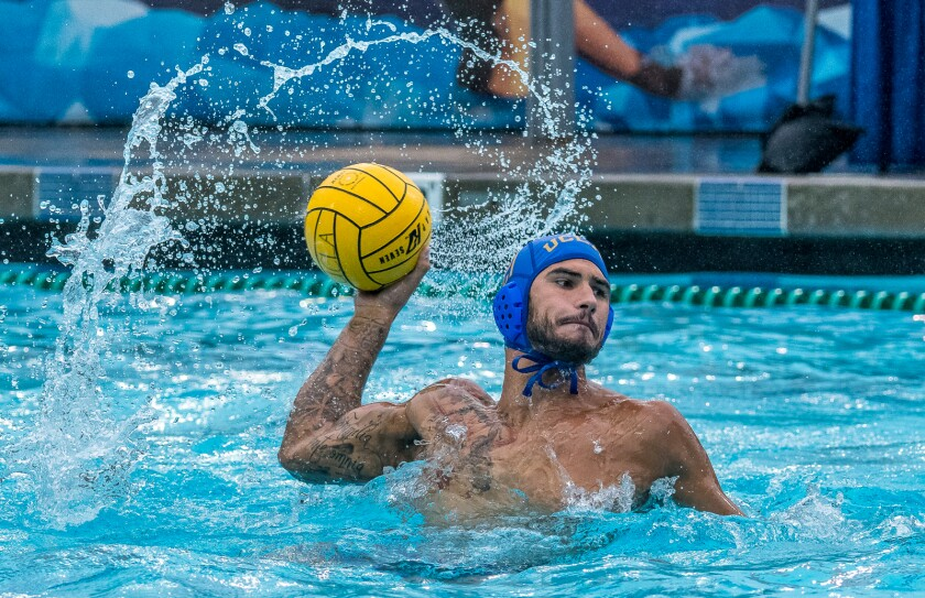 Nicolas Saveljic is a UCLA water polo player from Montenegro.