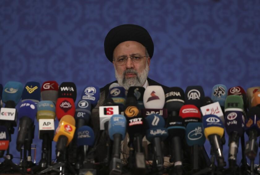 Iran's new President-elect Ebrahim Raisi