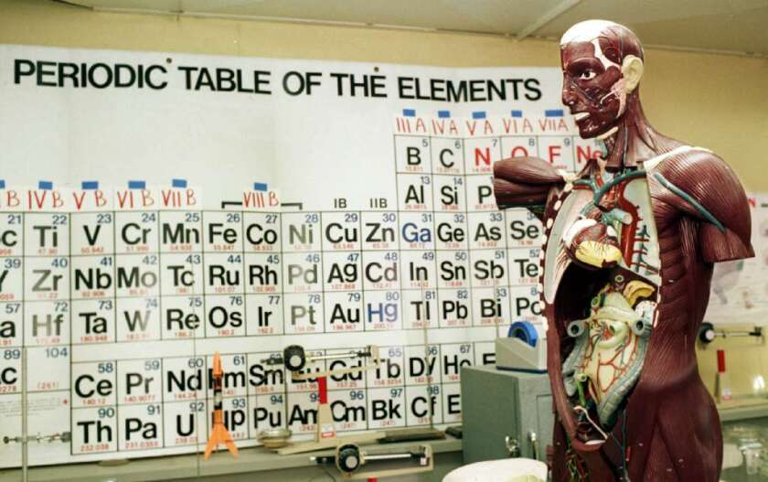 A place at the periodic table?