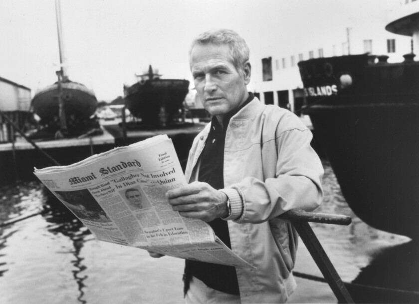 """Paul Newman in a scene from the 1981 drama """"Absence of Malice."""""""