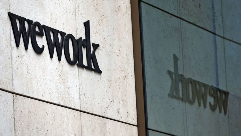 WeWork plans USA listing, Frankfurt Am Main, Germany - 04 Apr 2019