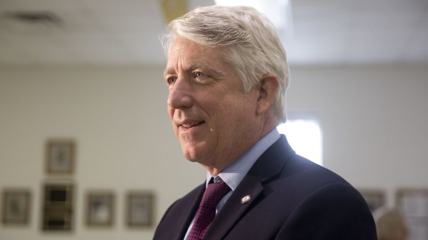 Attorney General Mark Herring conducted a round table discussion with a diverse group that included
