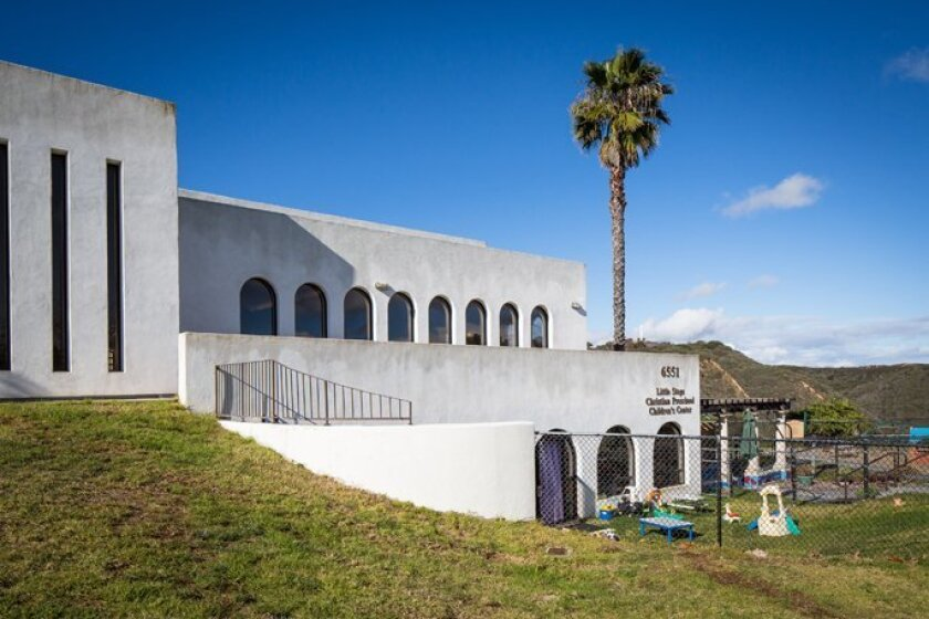 Located 800 feet above sea level — higher than any church in San Diego — Mount Soledad Presbyterian Church offers commanding views in all directions from its location on Mount Soledad in La Jolla.