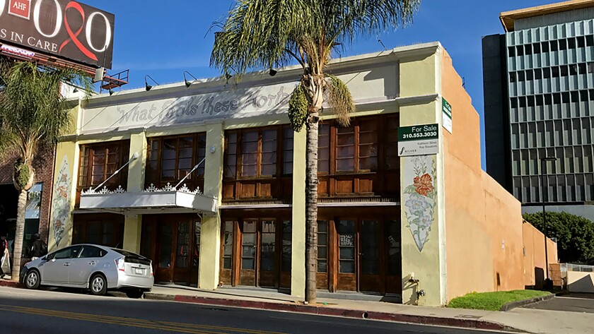 The former Grandmaster Recorders recording studio at 1518 N. Cahuenga Blvd. in Hollywood was sold for $6.1 million to Cahuenga Investors.