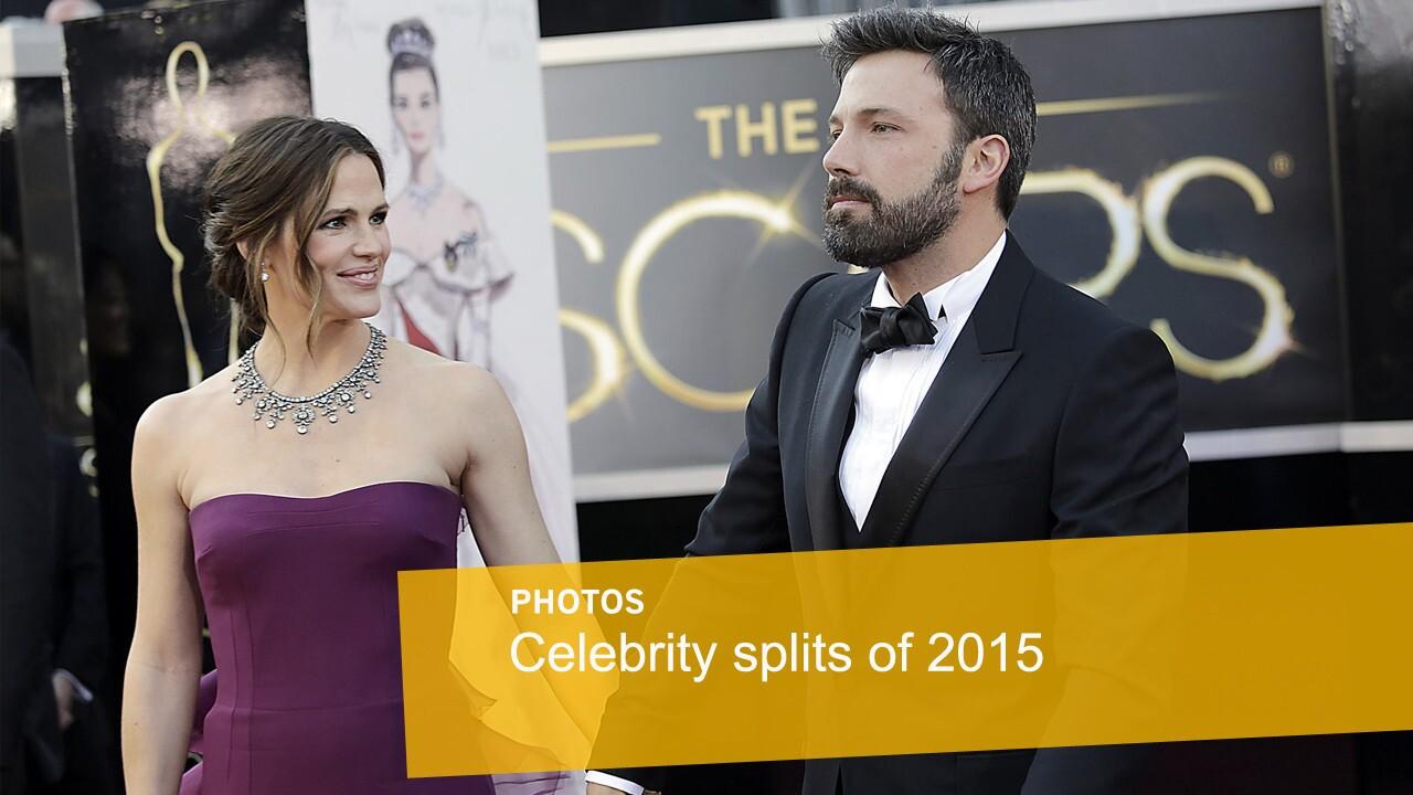 Celebrity splits | Jennifer Garner and Ben Affleck