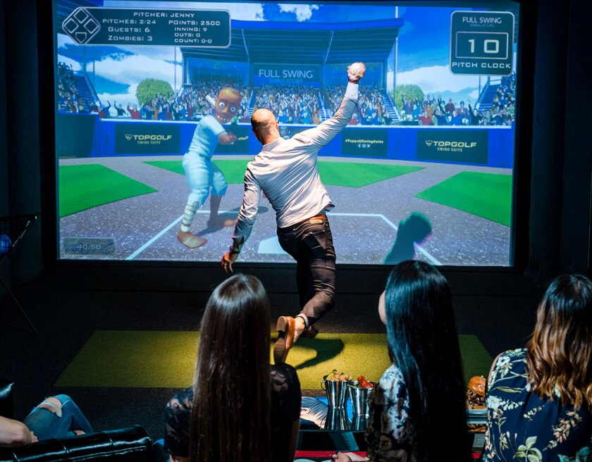 Harrah's Resort Southern California now offers the experience of Top Golf simulated sports in the privacy of a suite.