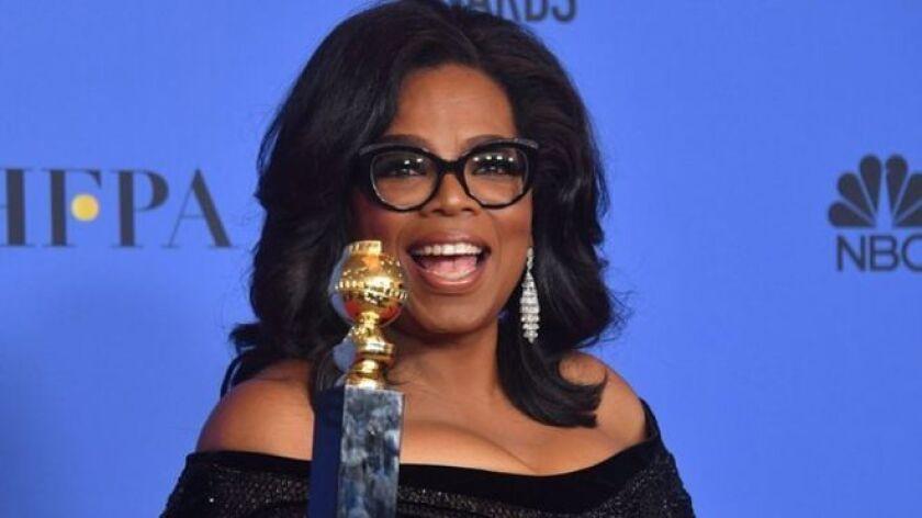Durante la gala de la entrega de los premios Globos de Oro, celebrada el domingo en la noche en Los Ángeles, el anfitrión Seth Meyers hizo una broma sobre la posibilidad de que Oprah Winfrey -la presentadora de televisión más importante de Estados Unidos- pudiera postularse a la presidencia de ese país.