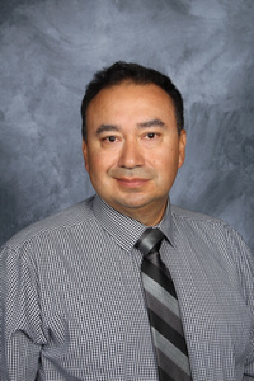 Rafael Loza has been name the new principal of Olive Peirce Middle School.