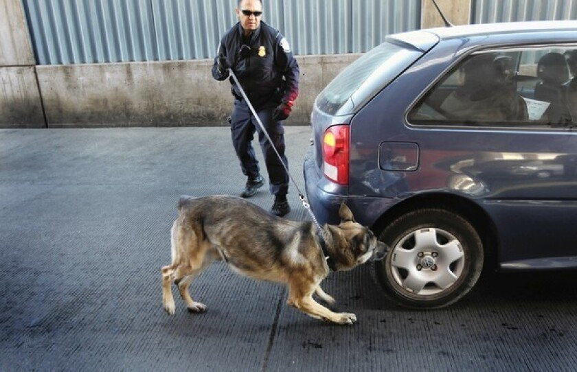 Supreme Court to revisit use of dogs as basis for drug searches