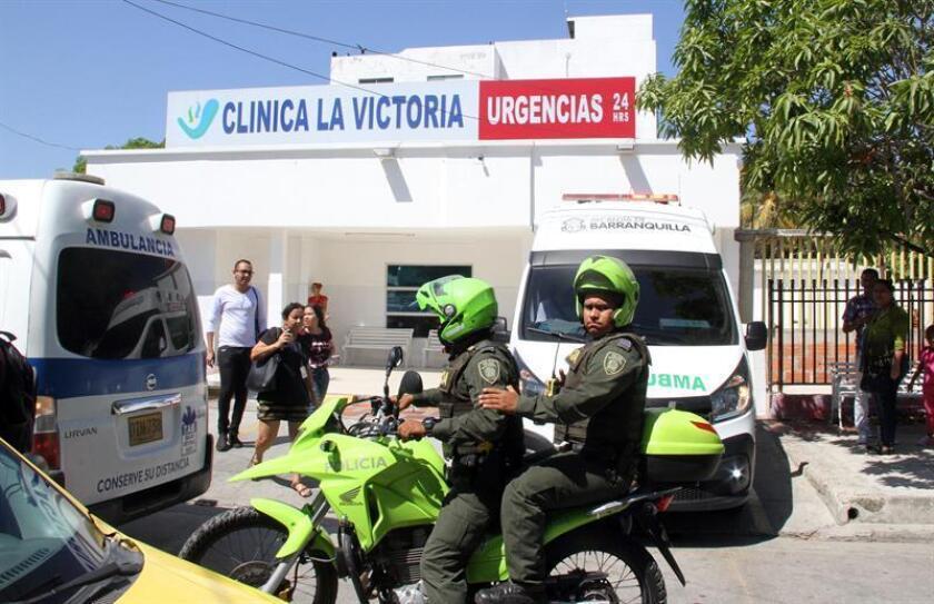 El presidente de México, Enrique Peña Nieto, condenó hoy los atentados con explosivos acontecidos en Colombia, donde murieron cinco policías, y en Ecuador, en el que hubo una veintena de heridos. EFE/ARCHIVO