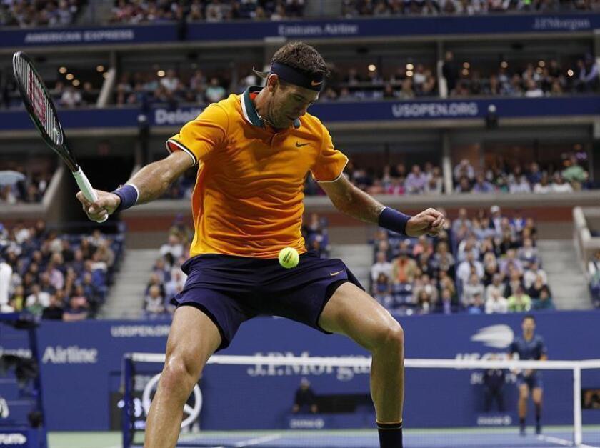 El tenista argentino Juan Martin del Potro. EFE/Archivo