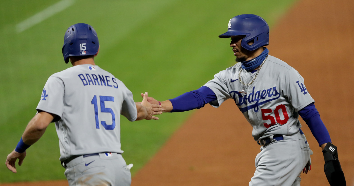 Dodgers rout Rockies to clinch home-field advantage in wild card