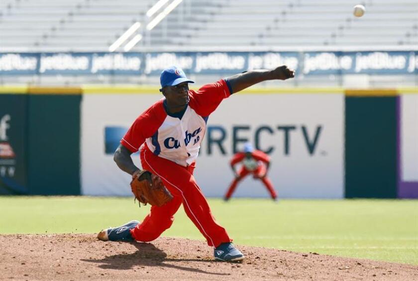 En la imagen, el jugador cubano Yoanni Yera. EFE/Archivo