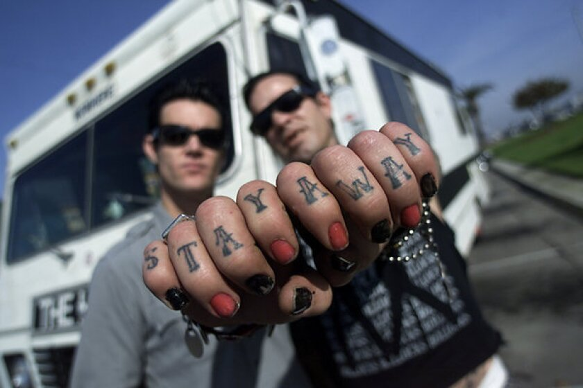 Skate-punk icon Duane Peters sentenced in domestic violence case