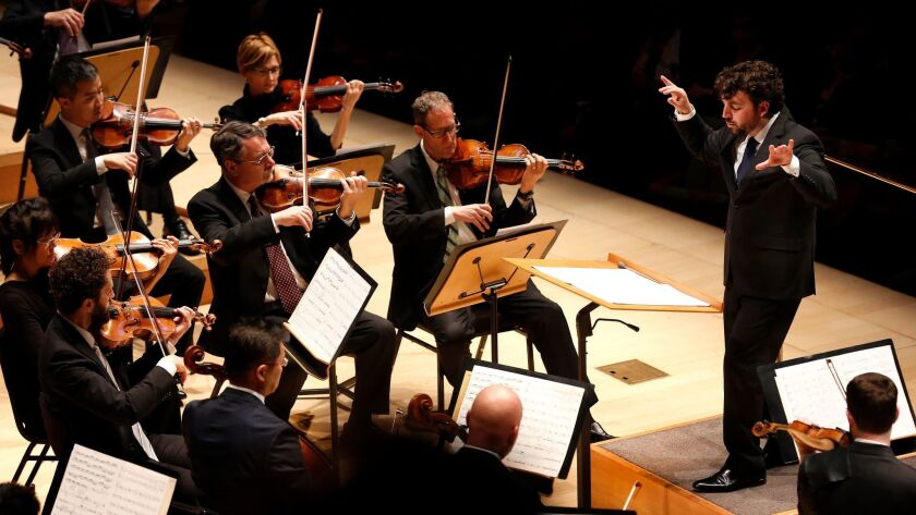 James Gaffigan and the L.A. Phil