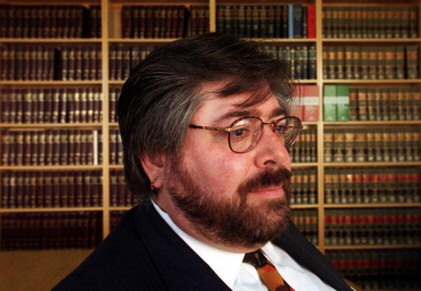Gay rights lawyer Jon W. Davidson