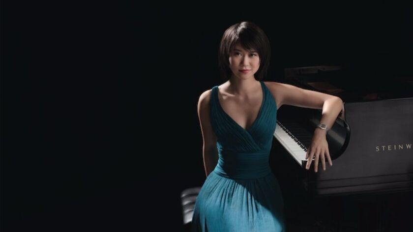 Pianist Yuja Wang