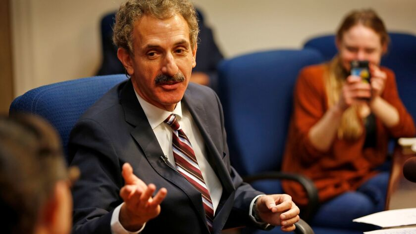 City Atty. Mike Feuer on Friday talks about the violence that erupted last weekend at a white supremacist rally in Charlottesville, Va.