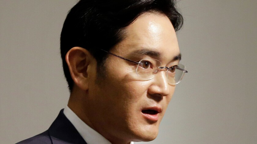 Samsung Vice Chairman Lee Jae-yong is thought to have been making key decisions since his father was hospitalized after a heart attack in 2014.