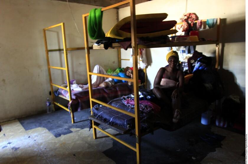 En el albergue Hotel del Migrante, en Mexicali, hay actualmente unos 560 haitianos y 150 migrantes mexicanos en espera de ser atendidos en EU.