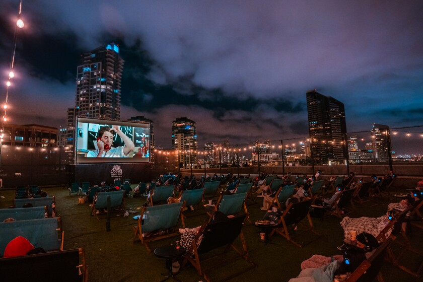 Rooftop Cinema Club is back in San Diego for the 2021 season.